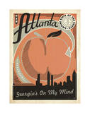 Atlanta: Georgia's On My Mind Posters by  Anderson Design Group