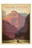 Grand Canyon National Park Poster van  Anderson Design Group
