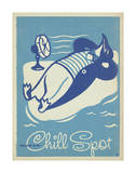 Welcome To My Chill Spot Print by  Anderson Design Group