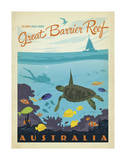 Great Barrier Reef, Australia Posters by  Anderson Design Group