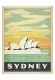 Sydney, Australien Affischer av  Anderson Design Group
