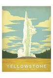 Parque Nacional Yellowstone Posters por  Anderson Design Group