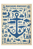 Anchors Away! Posters by  Anderson Design Group