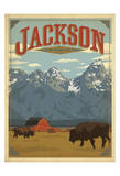 Jackson, Wyoming Poster von  Anderson Design Group