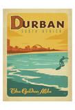 Durban, South Africa: The Golden Mile Kunst af  Anderson Design Group