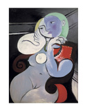 Nude Woman in a Red Armchair, 1932 Kunstdrucke von Pablo Picasso