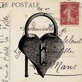 Key To My Heart II Láminas por Sabine Berg