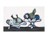 Dish of Pears, 1936 Kunst av Pablo Picasso