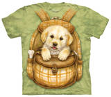 Youth: Puppy Backpack Tシャツ