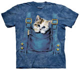 Youth: Kitty Overalls Tshirts