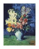 Flowers, 1901 Planscher av Pablo Picasso