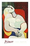 De droom Posters van Pablo Picasso