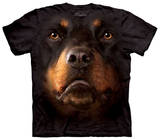 Youth: Rotweiller Face T-Shirts