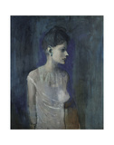 Girl in a Chemise, c. 1905 Kunstdrucke von Pablo Picasso