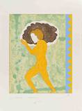 Ulisse with Border Impressão colecionável por Ernesto Tatafiore