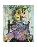 Seated Portrait of Dora Maar Plakater af Pablo Picasso