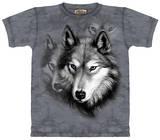 Youth: Wolf Portrait Tshirts