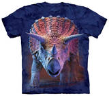 Youth: Charging Triceratops T-Shirt