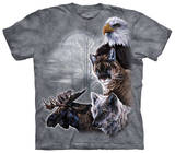 Youth: North American Collage T-shirts