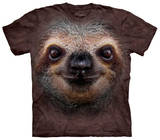 Youth: Sloth Face Tshirts