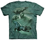 Youth: Dinosaur Collage Tshirts
