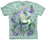 Youth: Unicorn & Butterflies Tシャツ