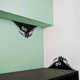 Curious Monsters sticker Seinätarra