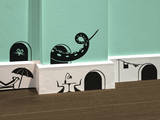 Mickey Pack Stickers Vinilo decorativo por Antoine Tesquier Tedeschi