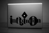 Imagination Laptop Sticker Masterdruck von Antoine Tesquier Tedeschi
