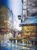 Rue du Bac Giclee Print by Guy Dessapt