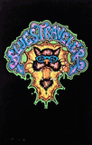 Blues Traveler Flocked Blacklight Poster Print Poster