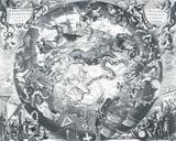 Haemisphaeri Graphicum Coelitietum Sceno Australae Stella Terrae, 1660 Giclée-Druck von Henricus Hondius