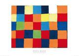 Farbtafel, c.1930 Poster von Paul Klee