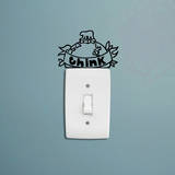 Think Wall Wall Decal by Antoine Tesquier Tedeschi