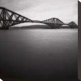 Forth Rail Bridge I Kunst op gespannen canvas van Jamie Cook