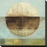 The Gathering Shore Sträckt kanvastryck av Heather Ross