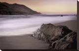 Garrapata Beach Opspændt lærredstryk af John Rehner