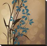 Sunset Blueprint I Stretched Canvas Print by Edward Aparicio