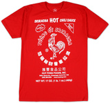 Sriracha - Label Tshirt