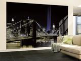 New York by night Wandgemälde
