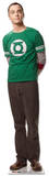 Big Bang Theory Sheldon Standup Pappfigurer