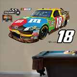 Nascar 2012 Kyle Busch 18 Car Wall Decal Sticker Vinilo decorativo