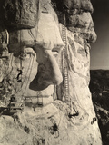 The Face of Abraham Lincoln At Mount Rushmore Photographic Print by Charles D'Emery