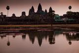 Sunrise At Angkor Wat, Cambodia Photographic Print by Kent Kobersteen