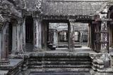 Architecture in the Temple Complex At Angkor Wat Photographic Print by Kent Kobersteen