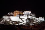 Potala Palace At Night Photographic Print by Kent Kobersteen