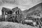 The Abandoned Champion Mill, At 10,800' On Halfmoon Creek Photographic Print by David Hiser