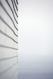 The Exterior Wall of a House Fotografisk tryk af John Burcham