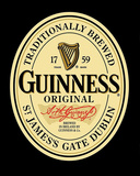 Guinness Original Label Poster Kunstdruck