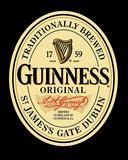 Guinness Original Label Poster Print